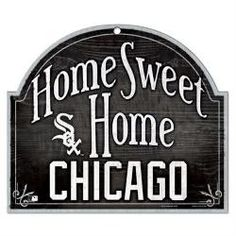 CHICAGO WHITE SOX OFFICIAL LOGO wood sign