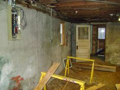 dirt floor basement