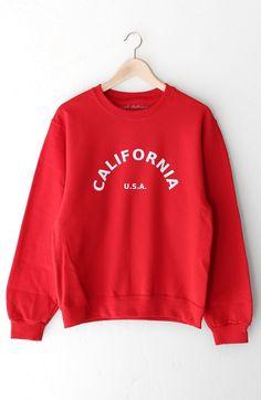 6178085450 California USA Oversized Sweatshirt