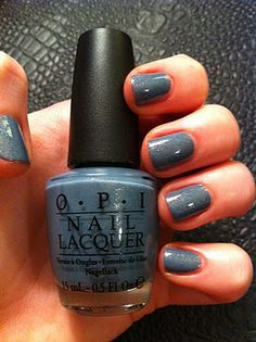 OPI: I Have a Herring Problem - great light grey, you can build it to the the shade you'd like!