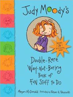 Judy Moody's Double-Rare Way-Not-Boring Book of Fun Stuff to Do by Megan McDonald, Peter H. Reynolds (Illustrator)