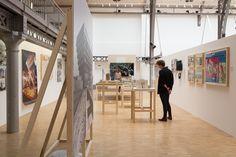 Scénographie de l'exposition au Pavillon de l'Arsenal  (c) Antoine Espinasseau