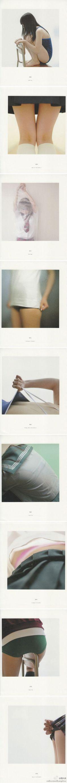 少女写真家青山 裕企的《 SCHOOLGIRL COMPLEX》。第一辑。