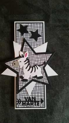 Gemaakt door Hella Coolen : zebra
