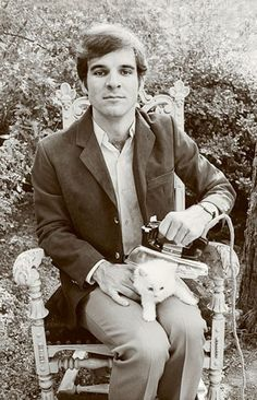 Steve Martin ironing a kitten, probably one of my favorite thing's I've found on Pinterest