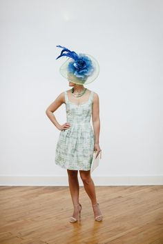 Adventures in Dressmaking: Classy Kentucky Derby dress, hat, and party ideas