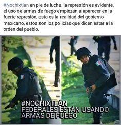 Y Dijeron ante NOTARIO PUBLICO que no habria ARMAS. ¡¡¡Oaxaca está más vivo que antes y tengan cuidado porque estamos más encabronados que nunca!!!