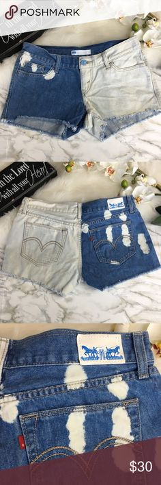 Levi's Short In excellent condition, No flaws,  Perfect for summer  No smoking Home Levi's Shorts Jean Shorts