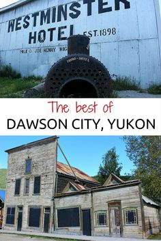 Dawson City, Yukon: A guide to the town that time forgot Alaska Travel, Alaska Trip, Alaska Highway, Western Canada, Canada North, Cool Places To Visit, Places To Travel, Visit Canada, Canada Trip