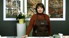 Yahoo! Video Detail for Pouring Watercolor Over Masking with Linda Baker