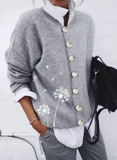 Floryday - Best Deals for Latest Women's Fashion Online Shopping Look Fashion, Winter Fashion, Fashion Outfits, Classic Fashion, Fashion Clothes, Cardigans For Women, Latest Fashion Trends, Ideias Fashion, What To Wear