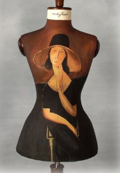 margadirube:   dressupmybody: Modigliani dress form (via Pinterest)