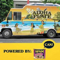 Spam Hawaiin Themed Truck