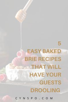 Become the hostest with the mostest when you decide to share these 5 baked brie recipes with your guests. From sweet to savory, theres a recipe that will jive well with every occasion. You don't need to be a chef to be able to pull off these easy three-ingredient baked brie recpies! #brie #brierecipes #bakedbrie #bakedbrierecipes