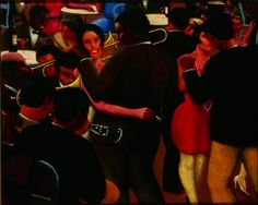 It's About Time: African American Artist Archibald John Motley, Jr (American Harlem Renaissance Painter) Blues 1929 African American Artist, African American History, American Artists, American Women, Native American, Archibald Motley, Harlem Renaissance Artists, Chicago History Museum, Blues
