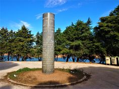 Column dedicated to the engineer of the dam with the inscription of Salazar, the former dictator at its base. Mountain Range, Algarve, Day Tours, Engineer, Old Town, Things To Do, Places To Visit, Coast, Explore