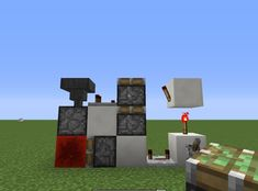 How to Create a Simple Redstone Piston Extender in MineCraft