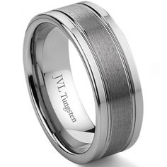 Another ring option for Mike. He has never had a wedding ring, so I need to get him one.
