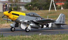 FMS Ferocious Frankie Super P51 D Mustang RC 7CH ARF PNP Warbird Airplane | eBay