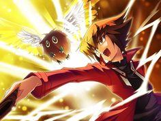 Judai (Jaden) and Winged Kuriboh, Yu-Gi-Oh! Gx