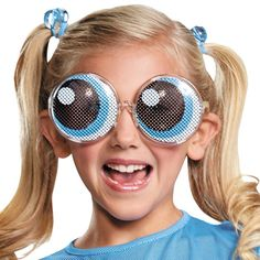 The Powerpuff Girls Girls Bubbles Costume includes: Halloween 2016, Holidays Halloween, Halloween Ideas, Halloween Party, Diy Girls Costumes, Diy Halloween Costumes, Costume Ideas, Power Puff Costume, Bubble Costume