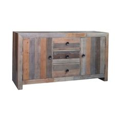 Add a touch of sophistication to your rustic dining room or contemporary living room with this beautiful sideboard. Gorgeously fashioned from recycled pine, the Monjeau Sideboard bears a stunning multi...  Find the Monjeau Sideboard, as seen in the #UrbanBohemia Collection at http://dotandbo.com/collections/urbanbohemia?utm_source=pinterest&utm_medium=organic&db_sku=110744