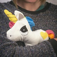 Heated Huggable Unicorn from Firebox.com