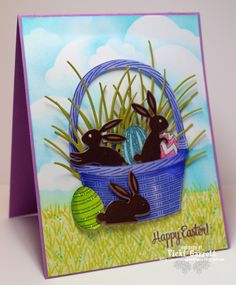 Vicki G Stamps: Impression Obsession Holiday Wishes, Holiday Fun, Holiday Cards, Card Making Designs, Card Designs, Chocolate Easter Bunny, Impression Obsession, Winter Cards, Greeting Cards Handmade