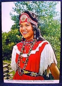 Ann Walkingstick Cherokee Indian Girl