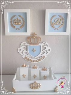 Stencil Wood, Kit Bebe, Baby Presents, Baby Kit, Clay Ornaments, Baby Christening, Sewing Box, Baby Boy Rooms, Baby Room Decor
