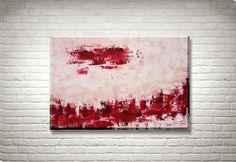 Amore - Original Acrylbild von FarbenfrohGalerie auf Etsy #abstract #abstrakt #modernart #rothko #farbfeldmalerei #expressionism #expressionismus #painting #gemälde #homedecor