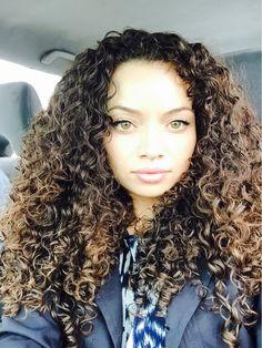 That hair! Stunning
