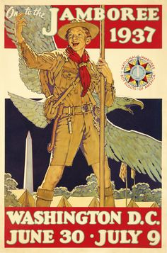 The first National Boy Scout Jamboree was in 1937 in Washington D.C.