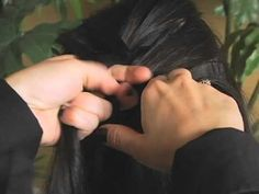 How to French Braid. #frenchbraid #braids #hair