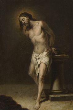 Cristo atado a la columna, Cornelio Schut.j