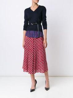 Altuzarra striped skirt