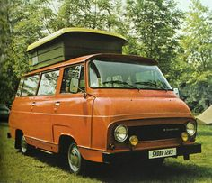1983 Škoda 1203 Camping car.