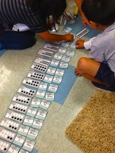 Developing number sense using ten frames and hands-on activities aligned with the common core.
