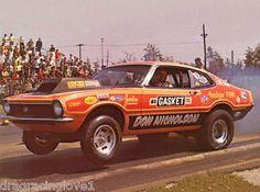 "pro ford maverick | Details about ""Dyno Don"" Nicholson 1970 Ford Maverick Pro Stock PHOTO!"