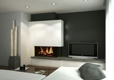 Can be adapted for a cave? House, Interior, Home, Log Burner, Dining Area, Cave House, Areas, Fireplace, Lounge