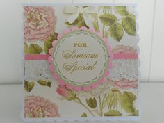 Cottage chic birthday card by picocrafts on Etsy, $3.50