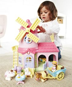 HappyLand Windmill Farm : HappyLand Windmill Farm : Early Learning Centre UK Toy Shop