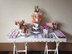 Mesa de dulces bautizo #candybar #ritzymarket #baptism