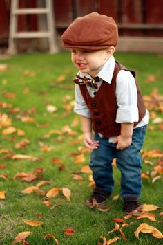 Vintage modern boys vest set Flat cap Argyle bow tie Herringbone vest Ring bearer set Natural cotton baby and kids clothes by - April 27 2019 at Baby Outfits, Cute Outfits For Kids, Cute Kids, Cute Babies, Fashion Kids, Baby Boy Fashion, Spring Fashion, Winter Fashion, Baby Boys