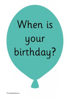 Month of the year balloons 12 balloons in a selection of colours to make a birthday or month of the year display. A free teaching resource for early Birthday Display, Key Stage 1, Display Lettering, Free Teaching Resources, Classroom Setup, Eyfs, Months In A Year, Birthday Balloons, Primary School