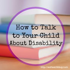 Opening up dialogue with your little one is important to help them develop into a strong advocate for themselves. Here's one way I approach that conversation. #SpecialEducation