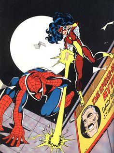 Spider-Man & Spider-Woman (1978) - Dennis Fujitake