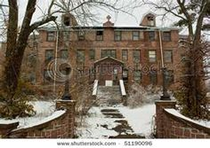 An Old Abandoned Hospital In Ironton, - seen it- lots more trees grown up around it now