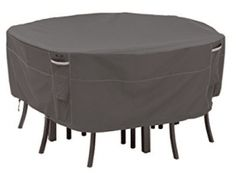 Looking for Classic Accessories Ravenna Round Patio Table & Chair Set Cover, Large ? Check out our picks for the Classic Accessories Ravenna Round Patio Table & Chair Set Cover, Large from the popular stores - all in one. Outdoor Chair Covers, Patio Umbrella Covers, Outdoor Furniture Covers, Outdoor Cover, Garden Furniture, Furniture Ideas, Square Patio Table, Round Table And Chairs, Table And Chair Sets