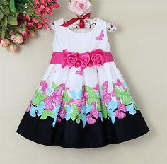 Resultado de imagen para vestidos de niña estampados